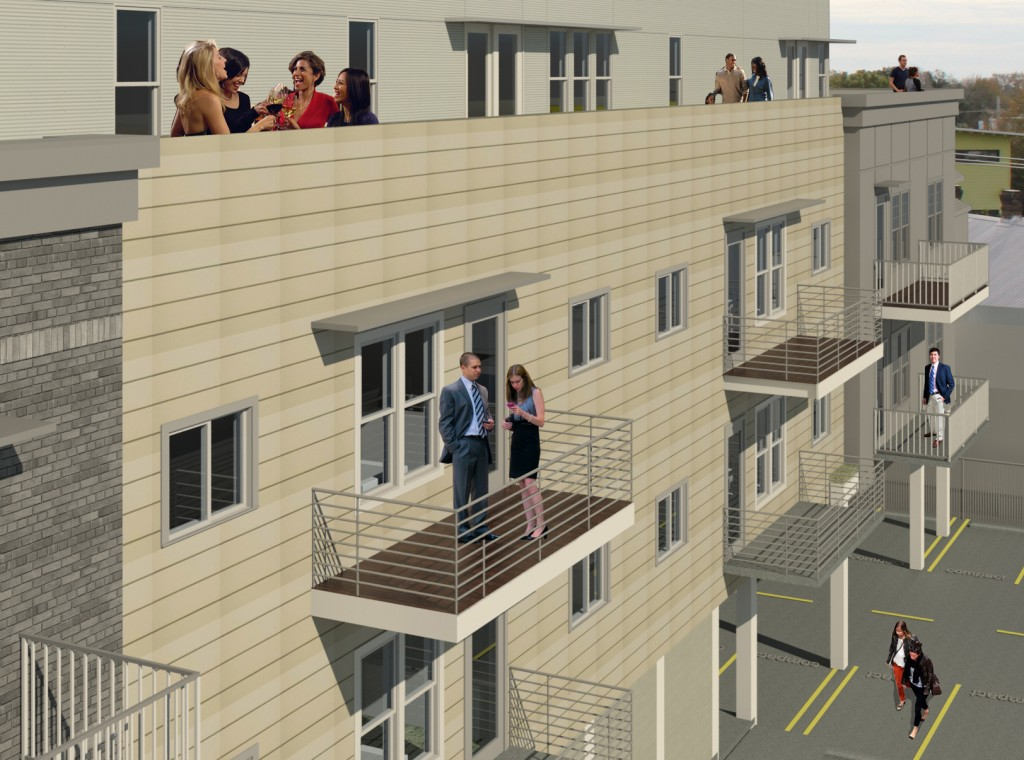 Private Balconies
