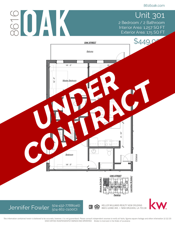 Unit 301 - UNDER CONTRACT