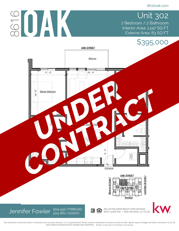 Unit 203 - UNDER CONTRACT